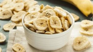 Pure Organic Dehydrated Banana Fruit Coins For Nutritional Fried Snack
