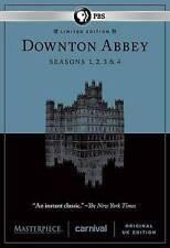Masterpiece: Downton Abbey - Seasons 1-4 (DVD, 2014, 12-Disc Set)
