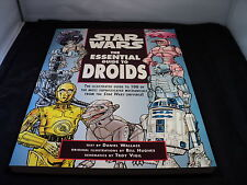 Star Wars the essential guide to droids book paperback