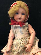 Poupée Ancienne Antique French Doll avec ses Vêtements