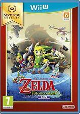 Legend of Zelda Wind Waker seleccionar Nintendo WII U video juego de la versión original de Reino Unido