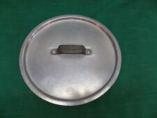 """New ListingVtg 10 1/2"""" replacement aluminum stock pot lid only Toro Ware Leyse 5312 C Nsf"""