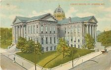 1912 Court House, St Joseph, Missouri Postcard