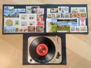 Schweiz (Helvetia) Jahrgang 2014 postfrisch/** komplett Nr. 2326-2374, Frankatur