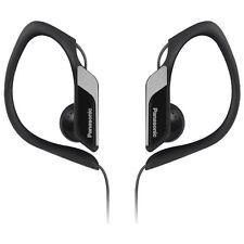 Panasonic RPHS34/BLACK Water & Sweat Resistant Sports Earbud Headphones - Black