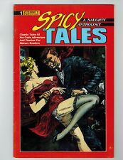 Spicy Tales #1 Comic Book September 1988 Eternity Comics