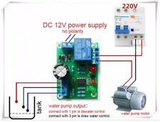 Water Liquid Level Controller Sensor Module Drainage Protect Circuit Board 9-12V