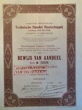 Technische Handel Maatschappij voorheen Jan Mulder - Amsterdam
