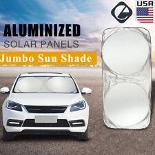 Car Windshield Sunshade Folding Jumbo Front Rear Auto Car Window Sun Shade Cover