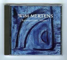 CD WIM MERTENS RETROSPECTIVES VOLUME 1