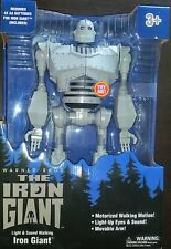 "Light & Sound Motorized Walking Iron Giant 14"" Brand New!"