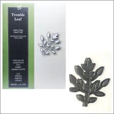 Tremble Leaf metal die Poppystamps cutting dies - 1366 leaves,branches
