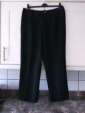 Donna Nuovi Pantaloni Taglia 18 di marca da LISA MARLEN nero con piccoli puntini Grigio