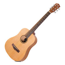 Martinez Busker Acoustic-Electric Guitar Babe Traveller Mini Spruce Natural