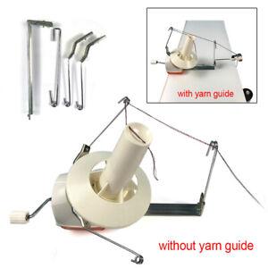 Vanpower Hand Operated Manual Wool Winder Holder for Yarn//Fiber//Wool//String Ball Winder