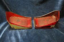 1965 Pontiac Bonneville Safaria Wagon Tail Lights Lens Pair Used
