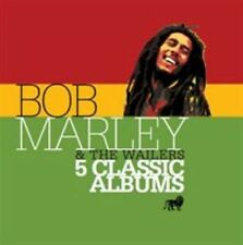 Five Classic Albums [Slipcase] by Bob Marley/Bob Marley & the Wailers (CD, Sep-2015, 5 Discs, Island (Label))