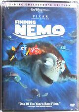 Disney Pixar Finding Nemo (Dvd, 2003, 2-Disc Set) Sealed Collector's Edition New