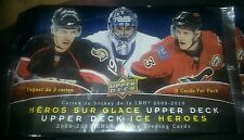 Upper deck ice heroes 3 pack 2009-2010
