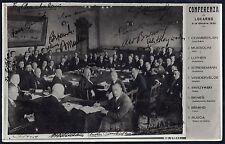 Uk Gb France Germany Italy Belgium Czecholovakia & Poland 1925 The Locarno Confe