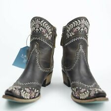 Lane Boots Landrun Gardens Women's Western Cowgirl Boots Size 9.5