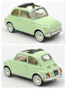 1/18 Norev Fiat 500 L 1968 Light Green neuf boite origine Livraison Domicile
