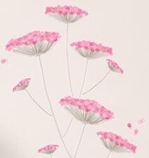 Wandtattoo rosa Dolden Blüten Blume Pflanzen Homesticker Aufkleber Sticker