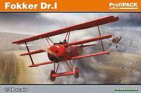 Eduard 1:48 Scale Model Kit Fokker Dr 1 Profipack Edition  EDK8162