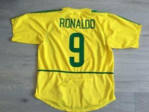 Ronaldo #9 - Brazil World Cup 2002 Football Jersey