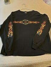 Metallica Vintage Long Sleeve 90's Flames RARE XL Load Reload Fits Lg Giant Tag