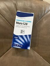 ‼️Bausch + Lomb Muro 128 5% Ophthalmic Solution - 0.5oz‼️