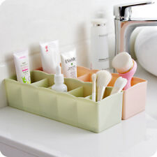"Plastic Organizer Drawer divider Storage Box L10.5""W3.27""H2""  Light Pink 2pack"