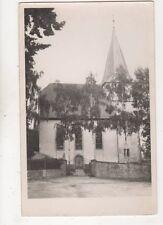 Unterschefflenz Evangelische Kirche Germany Vintage RP Postcard 401b