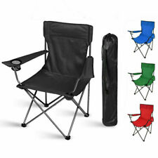 More details for folding camping chairs lightweight outdoor patio garden beach chair fishing seat