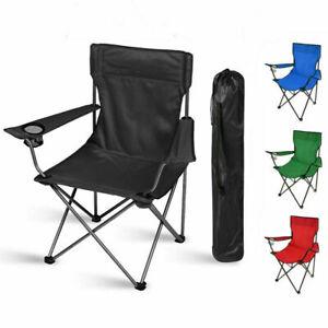 Folding Camping Chairs Lightweight Outdoor Patio Garden Beach Chair Fishing Seat
