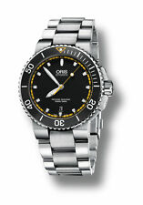 Oris Aquis Date Automatic Black Dial Mens Watch 01 733 7653 4127-07 8 26 01PEB