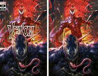 🔥 Venom #25 - Derrick Chew 🌑 Trade / Virgin Variant Set - Exclusive 🔥