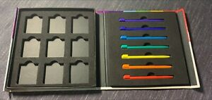 iCon Nintendo DS DSi Rainbow Stylus Pack Travel Case Holds 8 Games 7 Styluses