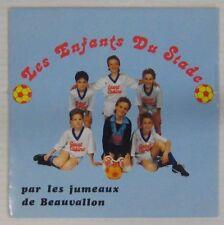 Football 45 tours Les enfants du stade Jumeaux de Beauvallon 1989
