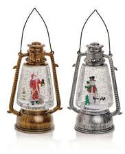 Premier Christmas Decorations 24cm Hurricane Lantern Water Spinner