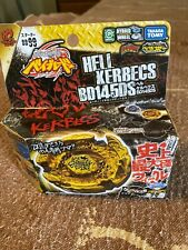 TAKARA TOMY Beyblade Hell Kerbecs BD145DS Hades Kerbecs BB99 Light Launcher New