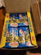 1980-81 NBA FLEER Basketball Rare Wax  Box With 36 Unopened Packs