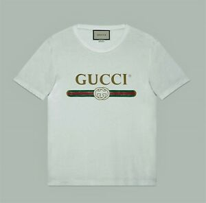 Gucci Oversize washed T-shirt with Vintage Logo print size M
