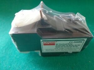 Dayton 2UXR6 Thermal Overload Relay Amp Range: 17 to 25 A, 3 pole