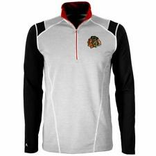 Antigua Chicago Blackhawks Men's 1/2 Zip Pullover Sweatshirt