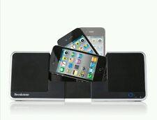 Brookstone Flip Speaker Dock/Charger Ipod/Iphone Model 682153 - Black