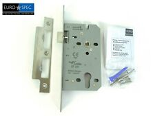 Eurospec Easi-T Contract Din Euro Sashlock 55mm Backset - DLE7255 [DLE7255EPSSS]