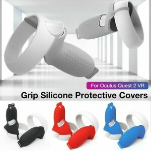 VR Controller Handle Grip Protection Cover Sleeve Silicone For Oculus Quest 2