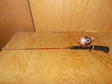 "Vtg Sportfisher 200 Reel W/ South Bend 30"" Cast Away Rod (Ice Fishing Set Up)"