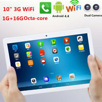 10in Tablet PC Bluetooth Octa-Core RAM 1G ROM 16G WiFi Dual SIM Camera  Android